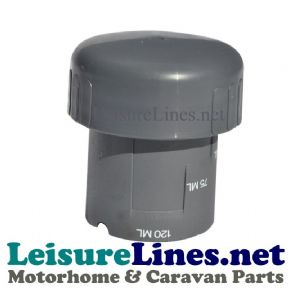 C250 C260 CAP MEASURING CUP GREY